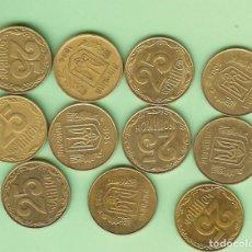 Sellos: UKRANIA. 11 MONEDAS DE 25 KOPIYOK, 11 FECHAS DIFERENTES. Lote 224799042
