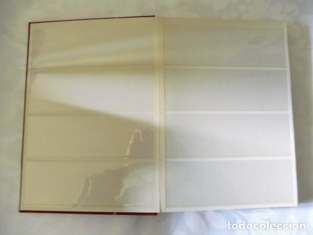 Sellos: 1 album para sellos de bloques de 4 transparente filabo 16 paginas - Foto 2 - 226819595