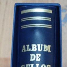 Selos: ALBUM DE SELLOS FILABO SON CORONA AZUL LOMO REDONDO 15 ANILLAS NUEVO A ESTRENAR. Lote 233086640