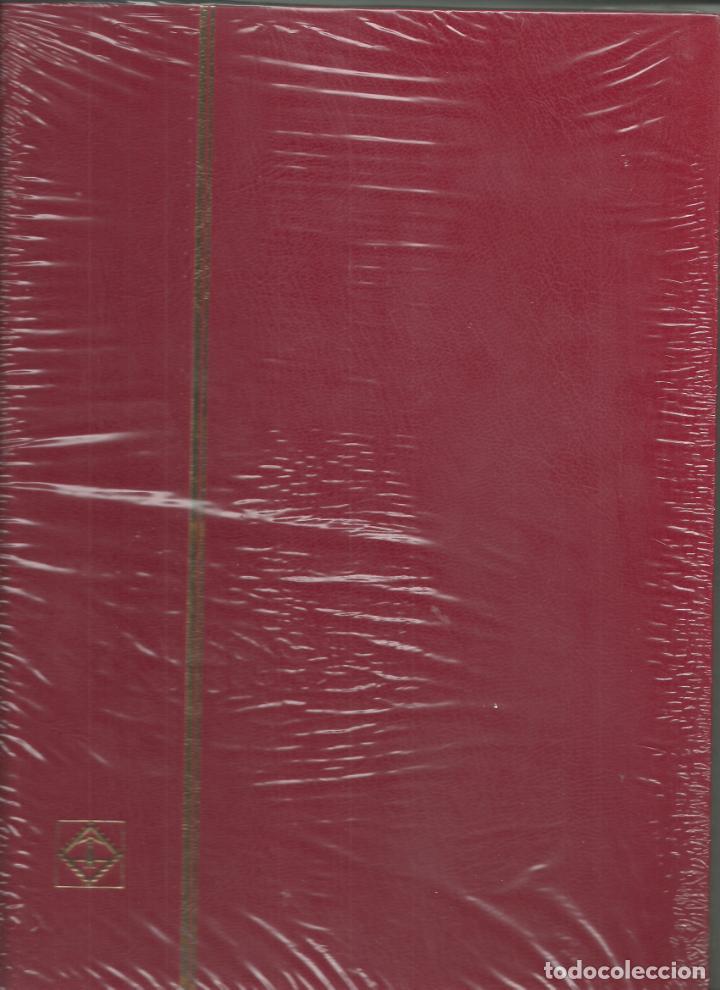 3 CLASIFICADORES DE 8 HOJAS BLANCAS, TOTALMENTE NUEVOS (Sellos - Material Filatélico - Álbumes de Sellos)