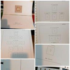 Sellos: JAPON HOJAS ALBUM DE SELLOS AÑOS 1871 A 1960 HOJAS 109 ALBUM EDIFIL COMPLETAS. Lote 236896260