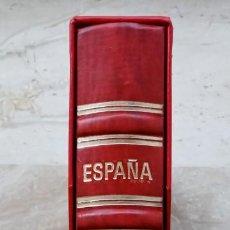 Francobolli: ALBUM MARCA EDIFIL - COLOR ROJO - DE 2ª MANO - EN MUY BUEN ESTADO - 3 FOTOS. Lote 239741850