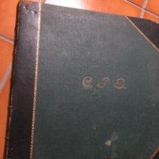 Sellos: ANTIGUOS ÁLBUMES DE SELLOS DE CORREOS . ESPAÑA Y COLONIAS. 1917. ÁLBUM 1 Y 2. Lote 240425270