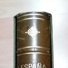 Sellos: TAPA DE ÁLBUM DE SELLOS TÍTULO ESPAÑA MARCA EDIFIL MODELO PIEL VERDE (SEGUNDA MANO). Lote 269116088