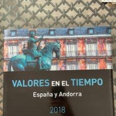 Sellos: LIBRO SELLOS ESPAÑA 2018. VALORES EN EL TIEMPO. Lote 252626935