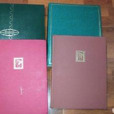 Sellos: 4 TOMOS COMPLETOS DE SELLOS ANTIGUOS.. Lote 254446010