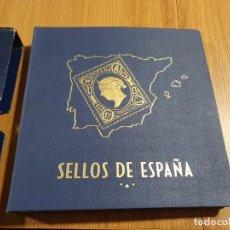 Sellos: GRAN ALBUM SELLOS ESPAÑA - 1850 A 1945 - PHILOS - INCOMPLETO - EXCELENTE ESTADO. Lote 254470645