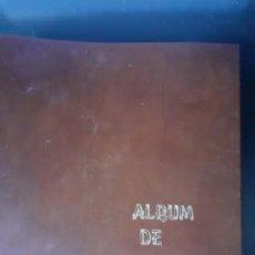 Sellos: ALBUM ANTIGUO SELLOS ANILLAS CON 17 HOJAS VACIAS, LOS SELLOS SE ESTÁN DESPEGANDO.. Lote 255603940
