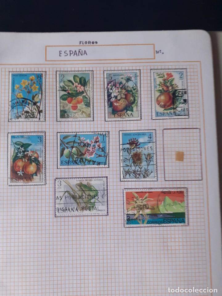 Sellos: album antiguo sellos anillas con 17 hojas vacias, los sellos se están despegando. - Foto 11 - 255603940