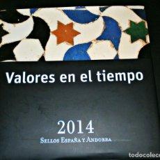 Sellos: VALORES EN EL TIEMPO -ESPAÑA Y ANDORRA 2014-ENVIO GRATIS-COMPLETO. Lote 259944480