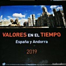 Sellos: VALORES EN EL TIEMPO -ESPAÑA Y ANDORRA 2019-COMPLETO ENVIO GRATIS. Lote 259944710