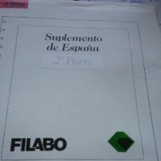 Sellos: SUPLEMENTO FILABO 2 PARTE ESPAÑA 1987(428-1)). Lote 261110980