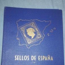 Sellos: ALBUM SELLOS DE ESPAÑA. Lote 262987360