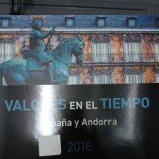 Timbres: LIBRO DE CORREOS 2018 SIN FILOESTUCHES SEGUNDA MANO. Lote 263879985
