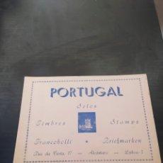 Timbres: LIBRO CON SELLOS DE PORTUGAL. Lote 266909749