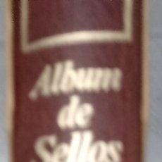 Sellos: ALBUM DE SELLOS EFILCAR MARRÓN LOMO REDONDO 15 ANILLAS SEGUNDA MANO. Lote 267437529