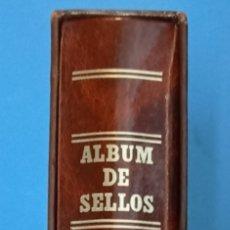 Sellos: ALBUM DE SELLOS EDIFIL 15 ANILLAS IMITACIÓN A PIEL LOMO REDONDO SEGUNDA MANO. Lote 267441009