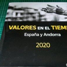 Sellos: 2020 ESPAÑA ALBUM SIN SELLOS PARA COLOCARLOS CORREOS ESPAÑA/ANDORRA TAMBIÉN LO TENEMOS CON SELLOS. Lote 267602429