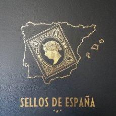 Sellos: ALBUM DE SELLOS PHILOS DE ESPAÑA 1975-1985, NUEVO, PERFECTO, MANDO MÁS FOTOS SI ES NECESARIO. Lote 267681804