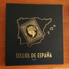 Selos: ÁLBUM PHILOS PARA SELLOS DE ESPAÑA 1987/1994 COMPLETO (FOTOGRAFÍA REAL). Lote 268959164