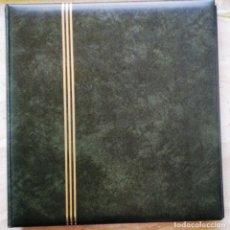 Sellos: ALBUM DE SELLOS USADO - COLOR VERDE - EN MUY BUEN ESTADO - VER 3 FOTOS. Lote 270195363