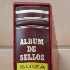 Sellos: ALBUM MARCA FILABO - COLOR ROJO CON TITULO - SUIZA - DE 2ª MANO - EN MUY BUEN ESTADO - 4 FOTOS. Lote 270196303