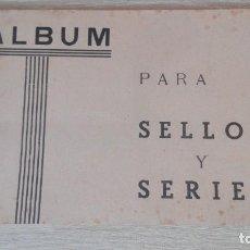 Sellos: ALBÚM PARA SELLOS Y SERIES-PUIGFERRAT (BARCELONA)-AÑOS 50.. Lote 270227903