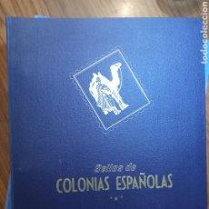Selos: ÁLBUM COLONIAS ESPAÑOLAS PHILOS CON TODAS SUS HOJAS COMPLETO. Lote 270454628