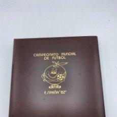 Sellos: ALBUM DE SELLOS DEL CAMPEONATO MUNDIAL DE FUTBOL ESPAÑA 82. NUEVO. PERFECTO ESTADO. VACIO. VER. Lote 275888943