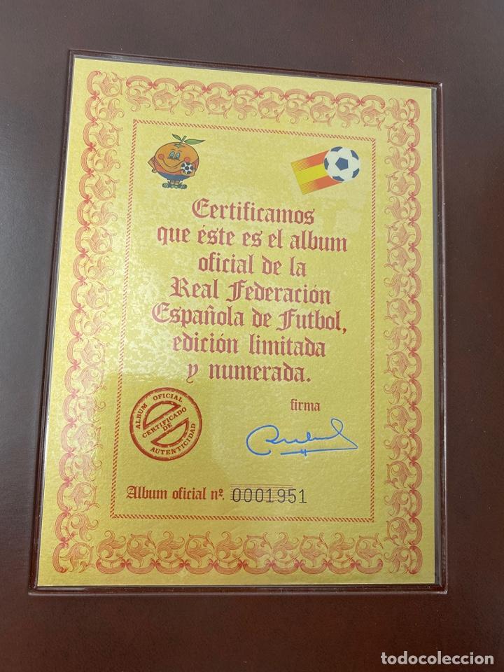 Sellos: ALBUM DE SELLOS DEL CAMPEONATO MUNDIAL DE FUTBOL ESPAÑA 82. NUEVO. PERFECTO ESTADO. VACIO. VER - Foto 3 - 275888943
