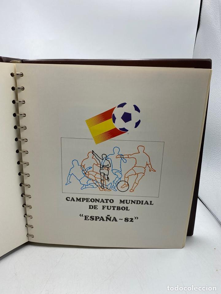 Sellos: ALBUM DE SELLOS DEL CAMPEONATO MUNDIAL DE FUTBOL ESPAÑA 82. NUEVO. PERFECTO ESTADO. VACIO. VER - Foto 5 - 275888943