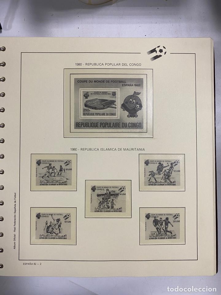 Sellos: ALBUM DE SELLOS DEL CAMPEONATO MUNDIAL DE FUTBOL ESPAÑA 82. NUEVO. PERFECTO ESTADO. VACIO. VER - Foto 7 - 275888943
