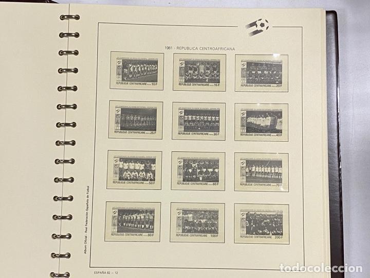 Sellos: ALBUM DE SELLOS DEL CAMPEONATO MUNDIAL DE FUTBOL ESPAÑA 82. NUEVO. PERFECTO ESTADO. VACIO. VER - Foto 9 - 275888943