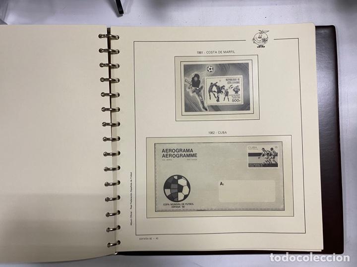 Sellos: ALBUM DE SELLOS DEL CAMPEONATO MUNDIAL DE FUTBOL ESPAÑA 82. NUEVO. PERFECTO ESTADO. VACIO. VER - Foto 12 - 275888943