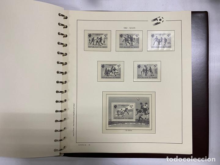 Sellos: ALBUM DE SELLOS DEL CAMPEONATO MUNDIAL DE FUTBOL ESPAÑA 82. NUEVO. PERFECTO ESTADO. VACIO. VER - Foto 15 - 275888943