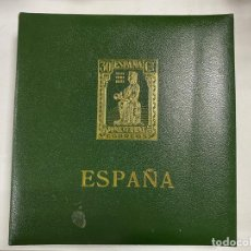 Sellos: ALBUM DE SELLOS DE ESPAÑA DEL II CENTENARIO 1951-1974. PUIGERRAT. CON ALGUNOS SELLOS. PARA RELLENAR.. Lote 275889878