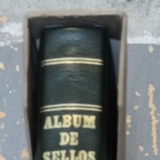 Sellos: ALBUM DE SELLOS FILABO SIN CORONA MARRÓN 15 ANILLAS SEGUNDA MANO. Lote 278559043