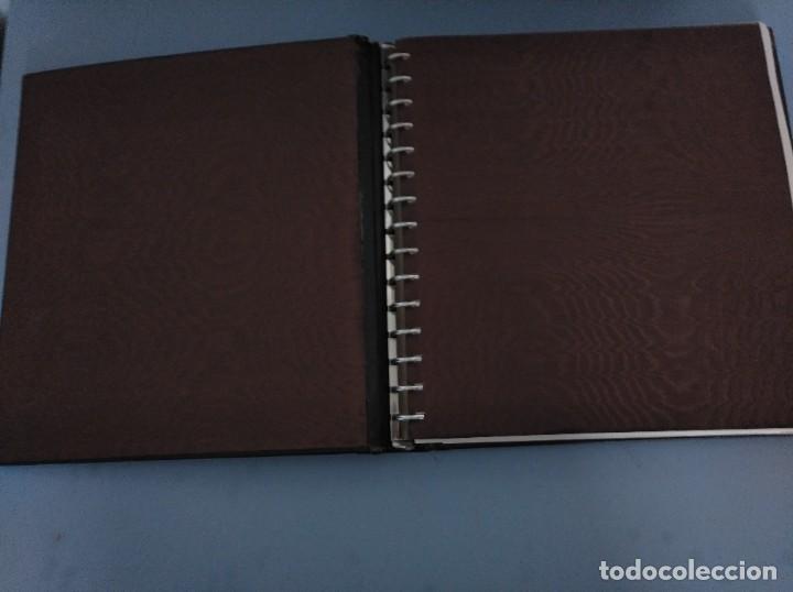Sellos: Álbum con hojas Edifil para grupos de 4 años 1976/80 - Con protectores negros - Foto 6 - 278575208