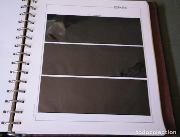 Sellos: Álbum con hojas Edifil para grupos de 4 años 1976/80 - Con protectores negros - Foto 11 - 278575208