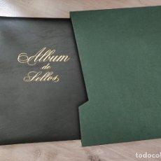 Sellos: SELLOS ESPAÑA OFERTA ALBUM FILABO MARRON OSCURO CON CAJETIN VERDE BUEN ESTADO. Lote 285986908