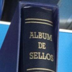 Timbres: ALBUM DE SELLOS EDIFIL AZUL 15 ANILLAS LOMO REDONDO SEGUNDA MANO. Lote 285999668
