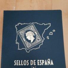Timbres: ALBUM SELLOS ESPAÑA PHILOS PRIMER CENTENARIO. Lote 286200973