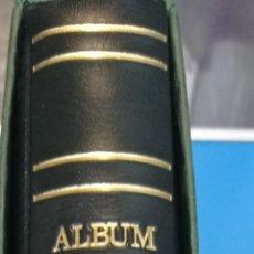 Timbres: ALBUM DE SELLOS AZUL 15 ANILLAS LOMO REDONDO SEGUNDA MANO. Lote 287227403