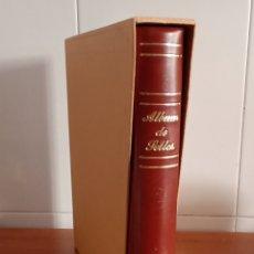 Sellos: ÁLBUM DE 15 ANILLAS USADO (FOTOGRAFÍAS REALES). Lote 288307273
