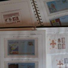 Selos: 2 ALBUMES CON HOJAS VARIADAS PARA SELLOS - PERIODO DESDE 1982 HASTA 1998 - LEER DESCRIPCION -.. Lote 290997588
