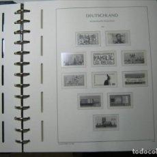 Sellos: FANTÁSTICO ÁLBUM FARO ALEMANIA CON HOJAS FARO 1994-2006 MONTADAS PROTECTORES TRANSPARENTES!!!. Lote 292237573