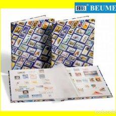 Sellos: CLASIFICADOR HOBBY CON ESTAMPADO DE SELLOS. 16 PÁGINAS. HOJAS BLANCAS. 230X305MM.. Lote 297076153