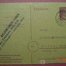 Sellos: 862 ENTERO POSTAL HITLER ALEMANIA GERMANY 6 MARZO 1945 C&C. Lote 10886078