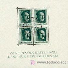 Sellos: HITLER BLOQUE 1937 & MARCA (1). Lote 22618148