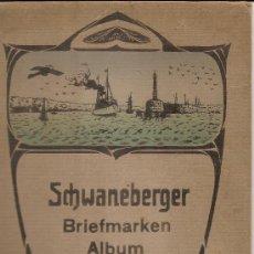 Sellos: SCHWANEBERGER BRIEFMARQUEN---ALBUM DE TIMBRES --POSTES. Lote 25962594